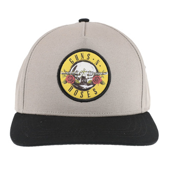 berretto Guns N' Roses - Circle Logo - SABBIA / BL - ROCK OFF, ROCK OFF, Guns N' Roses