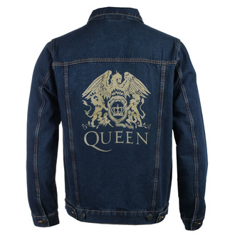 Giacca da uomo Queen - Classic - DENIM - ROCK OFF, ROCK OFF, Queen