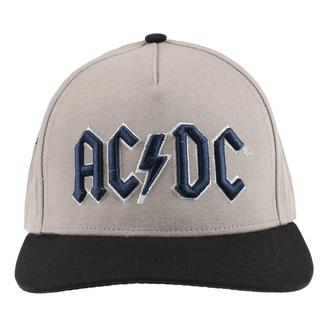 berretto AC / DC - Logo Navy - SABBIA / BL - ROCK OFF, ROCK OFF, AC-DC