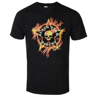 Maglietta da uomo BLACK STAR RIDERS - FLAMING SKULL - NERO - GOT TO HAVE IT, GOT TO HAVE IT, Black Star Riders
