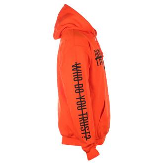 Felpa da uomo con cappuccio Papa Roach - WDYT Blaze - arancione - KINGS ROAD, KINGS ROAD, Papa Roach