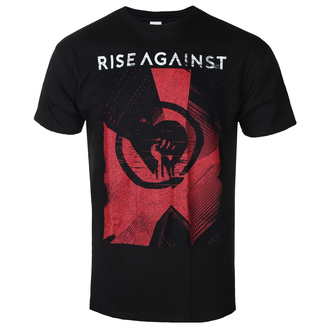 Maglietta da uomo Rise Against - Tower - Nero - KINGS ROAD, KINGS ROAD, Rise Against