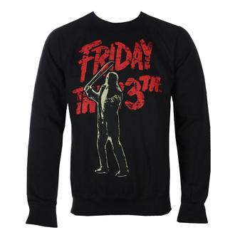 Felpa da uomo Friday The 13th - Jason Voorhees - Nero - HYBRIS, HYBRIS, Friday the 13th