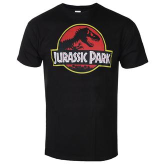 Maglietta da uomo Jurassic park - Distressed Logo - Nero - HYBRIS, HYBRIS, Jurassic Park