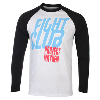 Maglietta da uomo a maniche lunghe Fight Club - Project Mayhem - Baseball - HYBRIS, HYBRIS, Fight Club