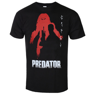 Maglietta da uomo Predator - Poster - Nero - HYBRIS, HYBRIS, Predator