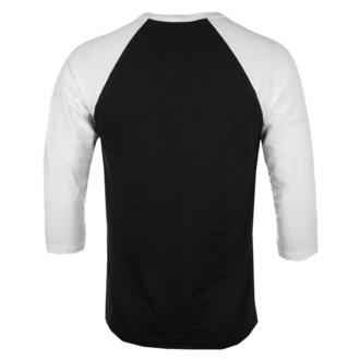 Maglietta da uomo con maniche a 3/4 Predator - Poster Baseball - Bianco nero - HYBRIS, HYBRIS, Predator