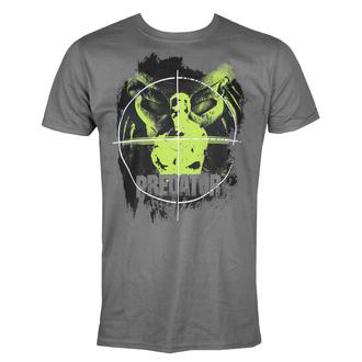 Maglietta da uomo Predator - Crosshair - Grigio scuro - HYBRIS, HYBRIS, Predator