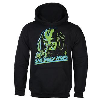 Felpa da uomo con cappuccio Predator - One Ugly MoFo - Nero - HYBRIS, HYBRIS, Predator