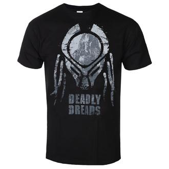 Maglietta da uomo Predator - Deadly Dreads Iconic - Nero - HYBRIS, HYBRIS, Predator