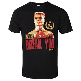 Maglietta da uomo Rocky - I Must Break You - Nero - HYBRIS, HYBRIS, Rocky