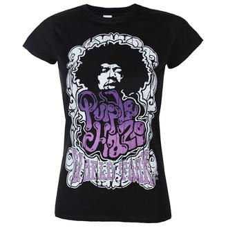 Maglietta da donna Jimi Hendrix - Purple Haze World Tour - Nero - HYBRIS, HYBRIS, Jimi Hendrix