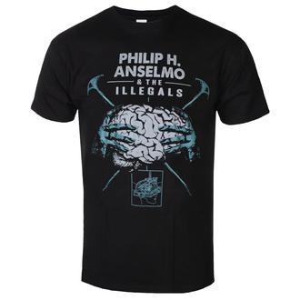Maglietta da uomo Philip H. Anselmo & The Illegals - Brain - RAZAMATAZ, RAZAMATAZ, Philip H. Anselmo & The Illegals