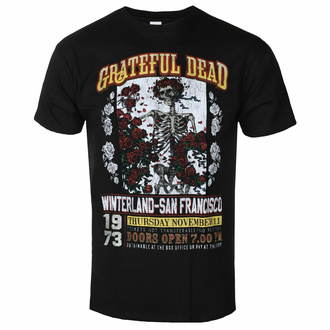 Maglietta da uomo Grateful Dead - San Francisco - ROCK OFF - GRATEECOTS01MB