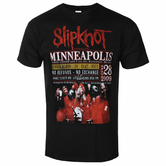 Maglietta da uomo Slipknot - Minneapolis '09 - ROCK OFF, ROCK OFF, Slipknot