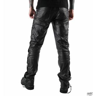 Pantaloni di pelle da uomo OSX - Out-Law - Nero, OSX