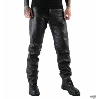 Pantaloni di pelle da uomo MOTOR - MOT004 - DANNEGGIATI, MOTOR