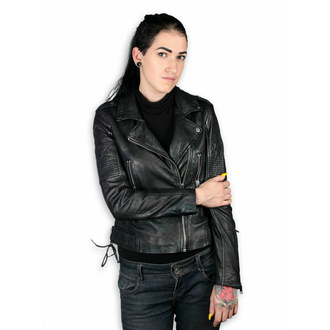 Giacca da donna (chiodo) - WONDER WOMAN - LAMEV MET / BLK - M0010772 - DANNEGGIATA - BH094