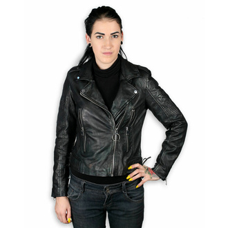Giacca da donna (chiodo) - WONDER WOMAN - LAMEV MET / BLK - M0010772 - DANNEGGIATA, NNM, Wonder Woman