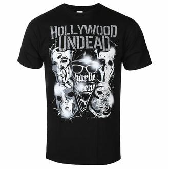 Felpa con cappuccio da uomo HOLLYWOOD UNDEAD - METAL MASKS - PLASTIC HEAD, PLASTIC HEAD, Hollywood Undead