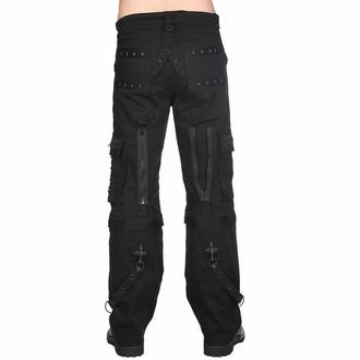 Pantaloni da uomo Black Pistol - Piramide - Nero - B-1-29-001-00 - DANNEGGIATI, BLACK PISTOL