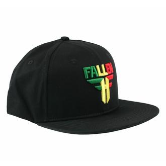 Cappello FALLEN - Insignia Flat - Black-Rasta, FALLEN