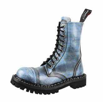 Anfibi STEADY´S - 10 buchi - Jeans - STE/10/106 JEANS