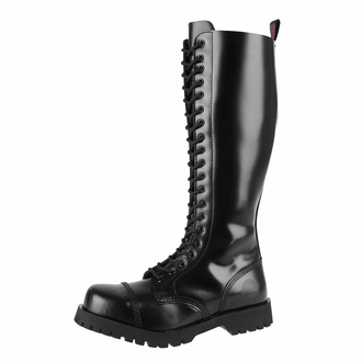 Anfibi NEVERMIND - 20 buchi - BLACK POLIDO - 10120SZ-001