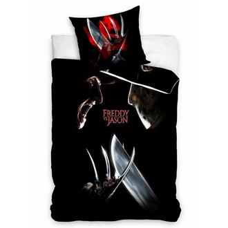 Biancheria da Letto Freddy vs. Jason - WARNER BROS - HORROR, NNM, Freddy vs. Jason