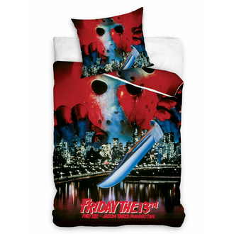 Biancheria da letto Friday The 13th - WARNER BROS - HORROR, NNM, Friday the 13th
