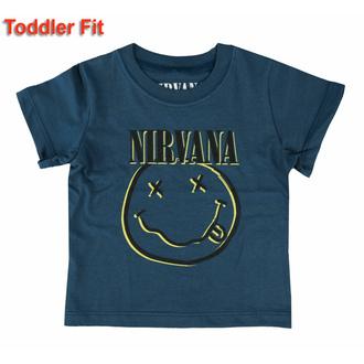 Maglietta da bambini Nirvana - Smiley - ROCK OFF, ROCK OFF, Nirvana