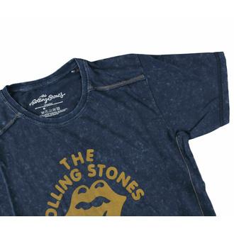 Maglietta da uomo Rolling Stones - NYC '75 - Snow wash - ROCK OFF, ROCK OFF, Rolling Stones
