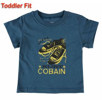 Maglietta da bambini Nirvana - Kurt Cobain - NAVY - ROCK OFF, ROCK OFF, Nirvana