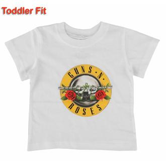Maglietta per bambini Guns N' Roses - Logo classico - WHT - ROCK OFF, ROCK OFF, Guns N' Roses