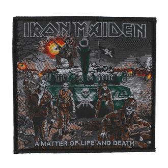 Toppa IRON MAIDEN - A MATTER OF LIFE AND DEATH - RAZAMATAZ, RAZAMATAZ, Iron Maiden