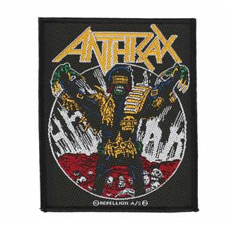 Toppa ANTHRAX - JUDGE DEATH - RAZAMATAZ, RAZAMATAZ, Anthrax
