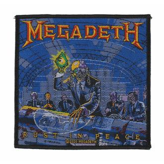 Toppa MEGADETH - RUST IN PEACE - RAZAMATAZ, RAZAMATAZ, Megadeth