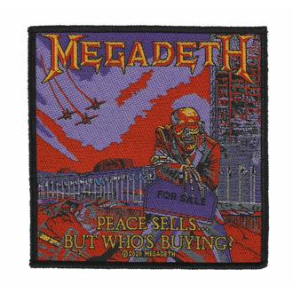 Toppa MEGADETH - PEACE SELLS - RAZAMATAZ, RAZAMATAZ, Megadeth