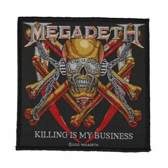 Toppa MEGADETH - KILLING IS MY BUSINESS - RAZAMATAZ, RAZAMATAZ, Megadeth