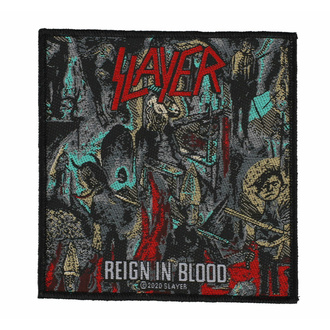 Toppa SLAYER - REIGN IN BLOODSLAYER - REIGN IN BLOOD - RAZAMATAZ, RAZAMATAZ, Slayer