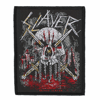 Toppa SLAYER - SKULL & SWORDS - RAZAMATAZ, RAZAMATAZ, Slayer