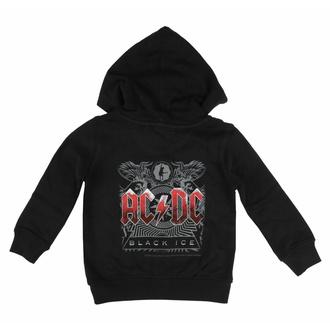 Felpa da bambini con cappuccio AC/DC - (Black Ice) - Metal-Kids, Metal-Kids, AC-DC