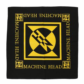 Bandana MACHINE HEAD - DIAMOND LOGO - RAZAMATAZ, RAZAMATAZ, Machine Head