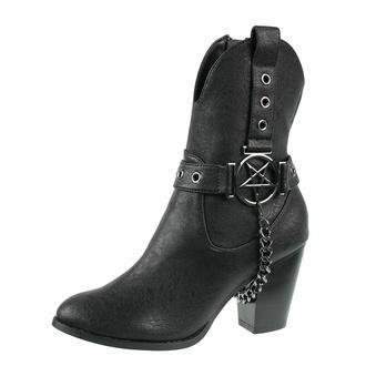 scarpe da donna KILLSTAR - Coven Cowboy - Nero, KILLSTAR