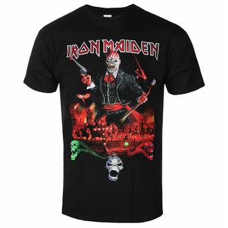Maglietta da uomo Iron Maiden - LOTB Live Album - Nero - ROCK OFF, ROCK OFF, Iron Maiden