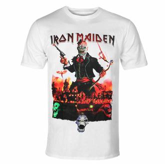Maglietta da uomo Iron Maiden - LOTB Live In Mexico City - Bianca - ROCK OFF, ROCK OFF, Iron Maiden