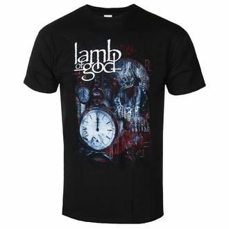 Maglietta da uomo Lamb Of God -Circuitry Skull Recolor - Nero - ROCK OFF, ROCK OFF, Lamb of God