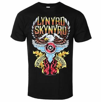 Maglietta da uomo Lynyrd Skynyrd - South'n Rock & Roll - Nero - ROCK OFF, ROCK OFF, Lynyrd Skynyrd