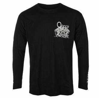 Maglietta da uomo a maniche lunghe Queen - Extravaganza - Nero - ROCK OFF, ROCK OFF, Queen