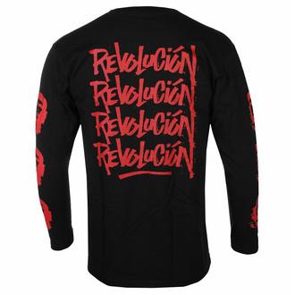Maglietta da uomo a manicche lunghe Che Guevara - Rivoluzione - Nero - ROCK OFF, ROCK OFF, Che Guevara